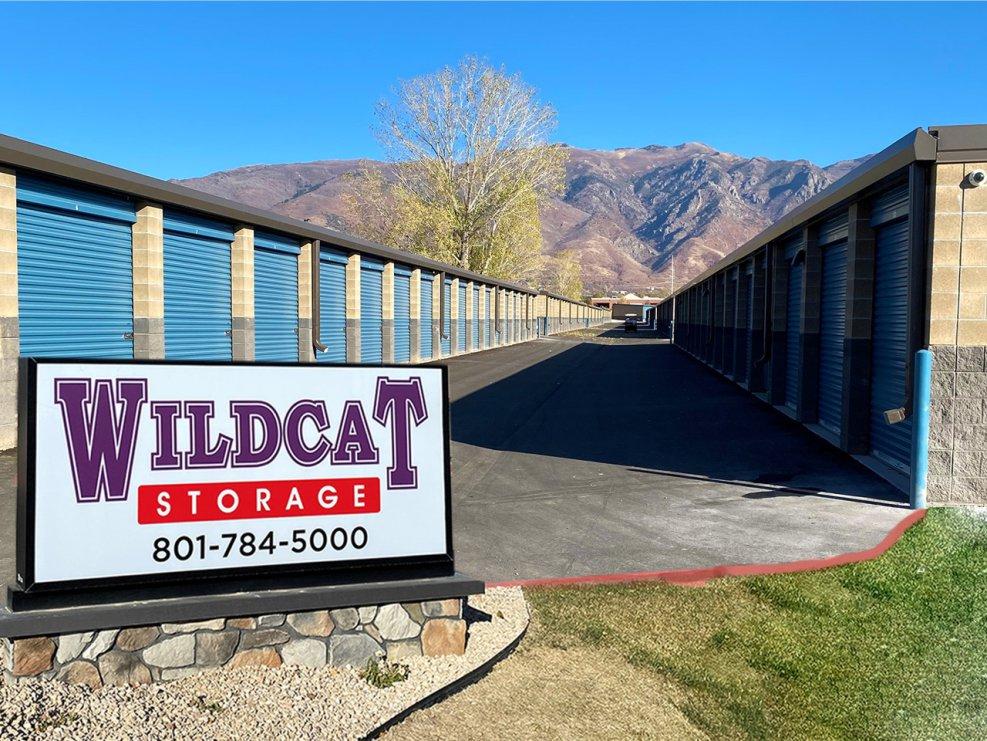Self-Storage Units in Layton, Utah with wide driveways - Wildcat Storage